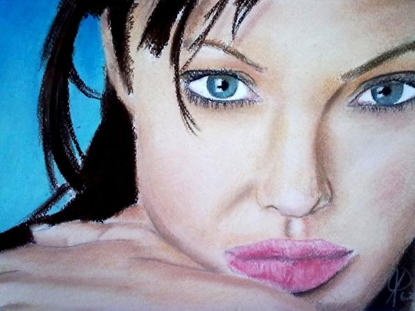 Angelina Jolie by JoanaPires